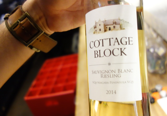 Cottage Block wine - great stuff