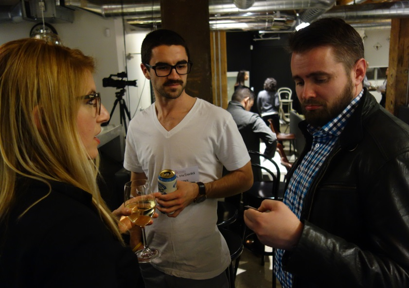 Raymi, Lee with Adam Green of Googe Canada