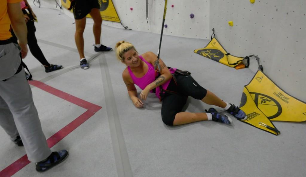 Raymi Lauren - Raymi the Minx - climbing gym, speed climb, Markham, 2018
