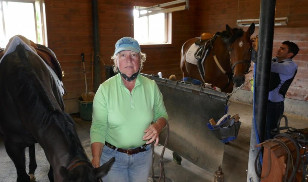 Louise Masek with Eurico Rosa DaSilva and sport horses